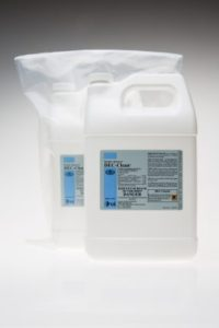 Dec-Clean residue remover for cleanrooms for use in routine cleaning and disinfection