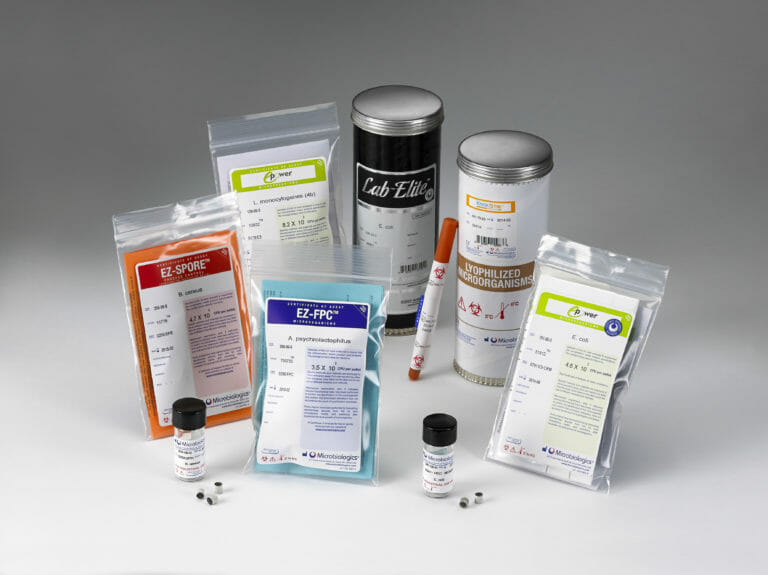 Quality Control Microorganisms for food testing laboratories