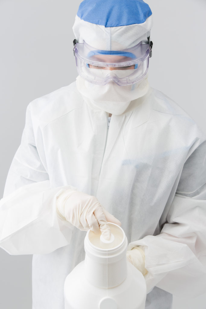 SimpleMix disinfectant diluting system for cleanrooms