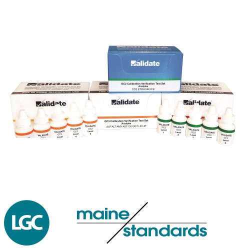 LGC Maine Standards Controls and Linearity Verification